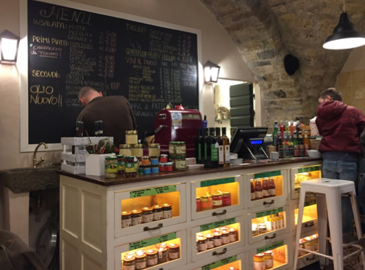 Le « Made in Chianti », notre stamp café